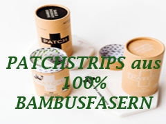 Patchstrips aus Bambusfasern