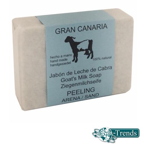 Ziegenmilchseife für Peeling / ca. 115 gr.