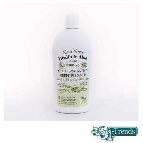 Aloe Vera Feuchtigkeits-Gel / 95,86 % / 400ml / RR-2002
