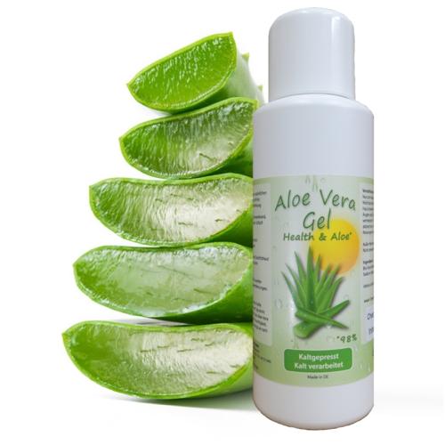 Aloe Vera Natur Gel mit 98% Aloe Vera Anteil / Inhalt 250 ml