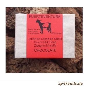 Ziegenmilchseife mit Schokolade / ca. 115 gr