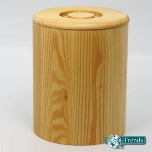 Getreidebehälter, Holzdosen aus Linde für Getreide