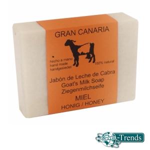 Ziegenmilchseife mit Honig / ca. 115 gr