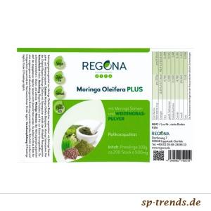 Moringa Samenpulver Plus Tabletten / Inhalt: 100 Stück a`1000mg