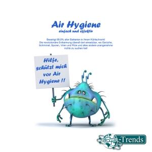 Air Hygiene - Reduziert pathogene Keime zu 99,9%