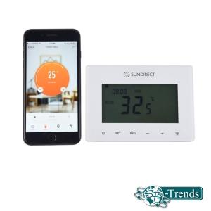 Das Smart 1.0 Pro Funkthermostat mit Wifi für Serien PE, IC, GD, MD und TH