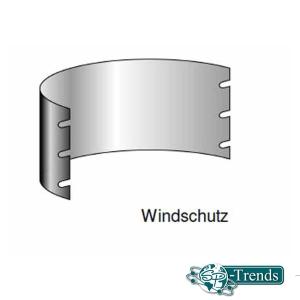 Windschutz für Grill CLASSIC+ RUNDO
