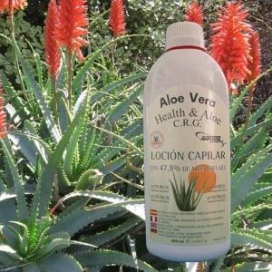 Aloe Vera Haar-Lotion / 47,8% / 400 ml / RR-2009
